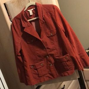 I am selling a Sundance blazer that's rust color.